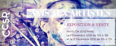 Avis aux Artistes 2018