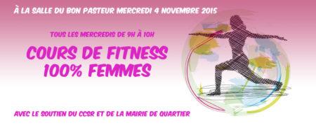 Nouvelle activité – Cours de Fitness