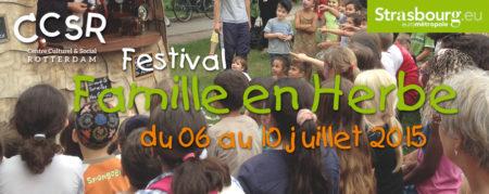 Festival Famille en Herbe
