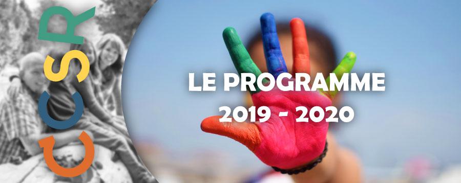 Programme 2019-2020