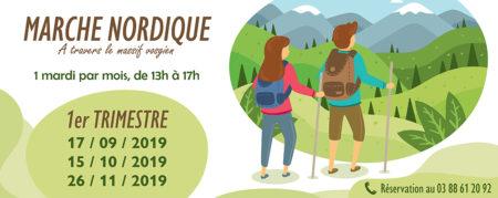Marche Nordique 2019 – Trimestre 1