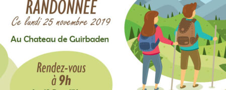 Randonnée au Château Guirbaden