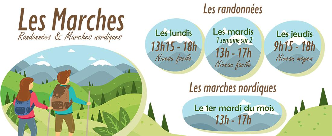 You are currently viewing Les randonnées et les marches : Trimestre 3