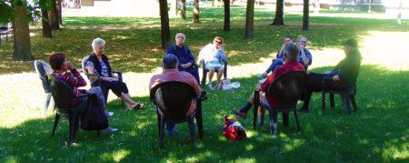L'atelier lecture en plein air