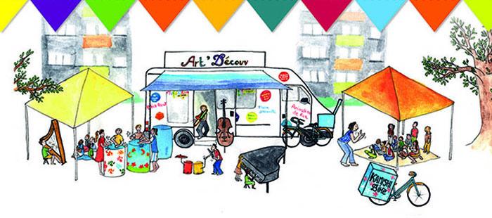 Ailleurs dans le quartier_ETE 2020_Banniere_Caravane-ART-DECOUV