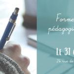 Formation à la pédagogie de l'écriture