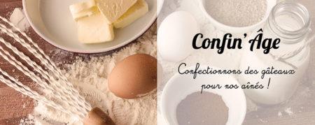 Confin'Âge : des gâteaux pour nos aînés !