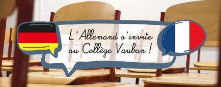 L'Allemand s'invite au Collège Vauban