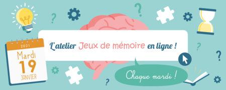Jeux de Mémoire en ligne du 19.01.2021
