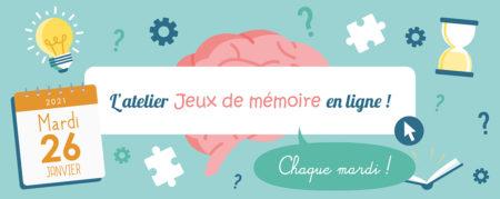 Jeux de Mémoire en ligne du 26.01.2021