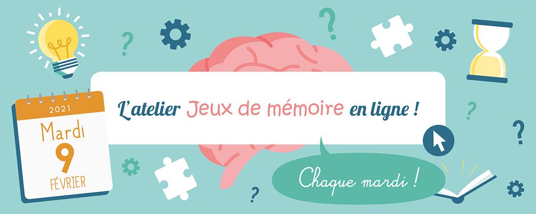 Jeux de Mémoire en ligne du 09.02.2021