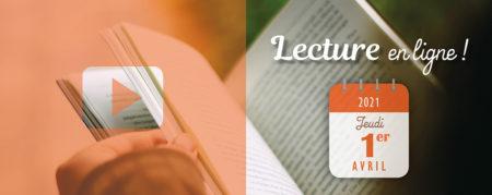 Atelier de lecture en ligne – 01.04.2021