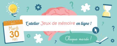Jeux de Mémoire en ligne du 30.03.2021