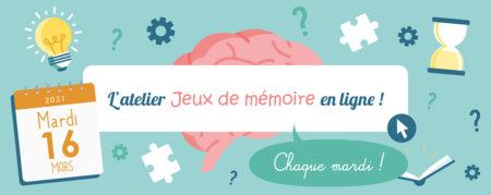Jeux de Mémoire en ligne du 16.03.2021