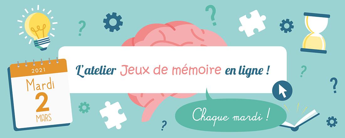 You are currently viewing Jeux de Mémoire en ligne du 02.03.2021