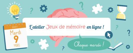 Jeux de Mémoire en ligne du 09.03.2021