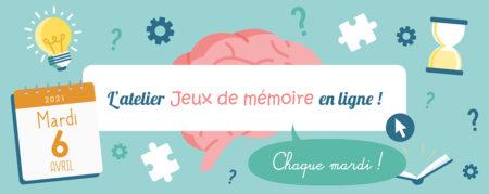 Jeux de Mémoire en ligne du 06.04.2021