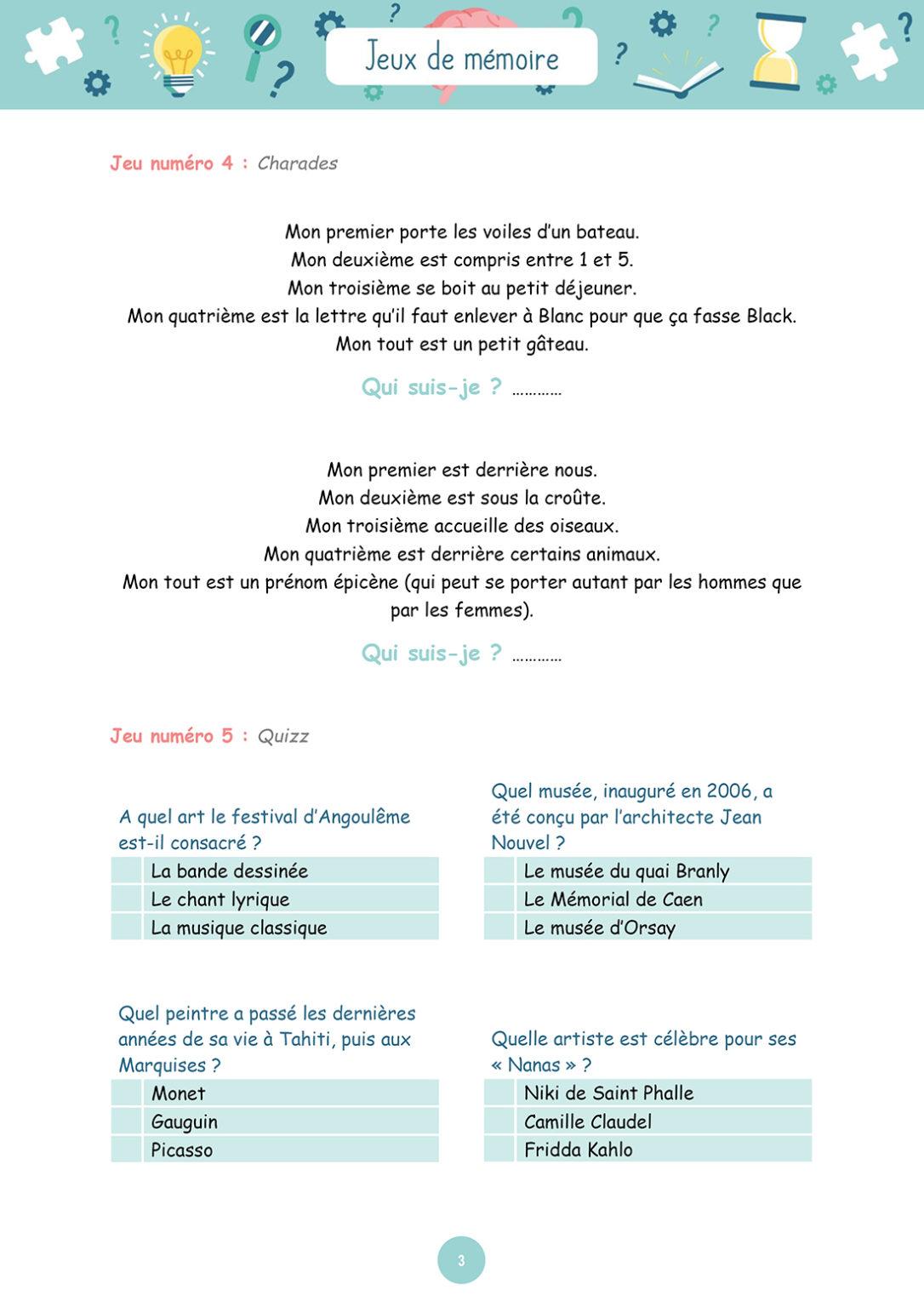 Jeux de mémoire - Mardi 20 avril 2021 - Page 3