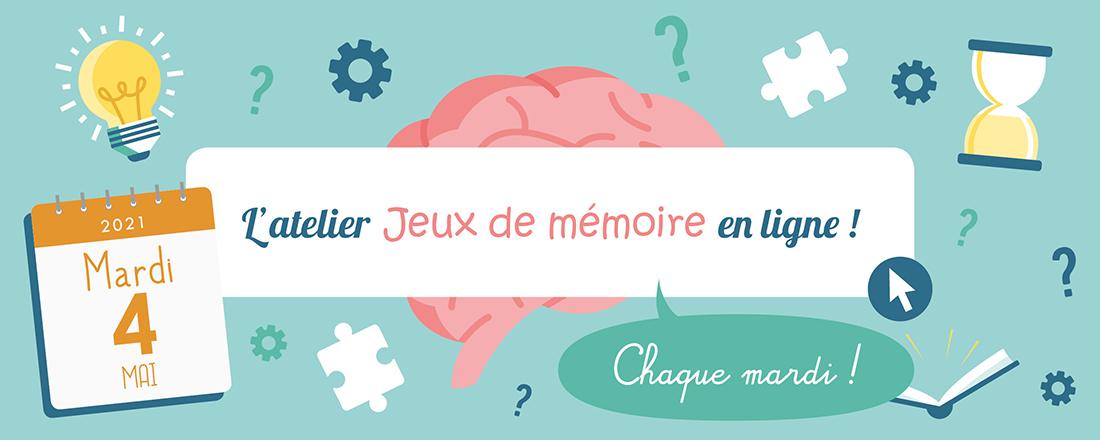 Jeux de Mémoire en ligne du 04.05.2021