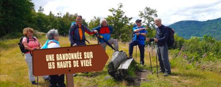 Une randonnée sur les Hauts de Villé