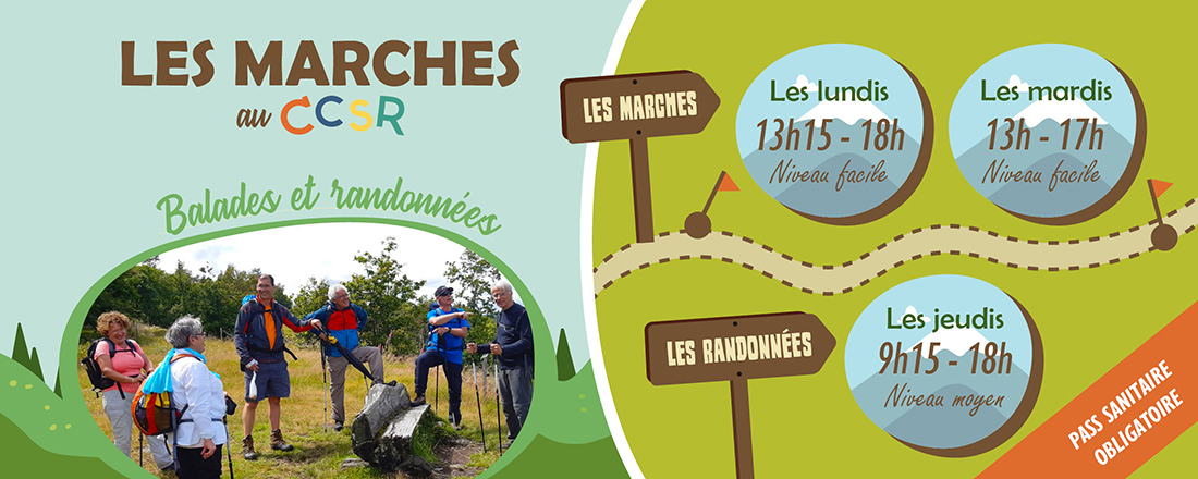 You are currently viewing Marches et randonnées 2021-2022 : 1er trimestre
