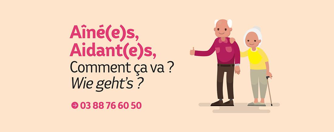 You are currently viewing Soutien au aîné(e)s et aidant(e)s